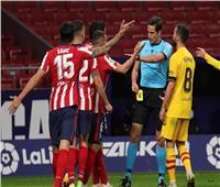 «كاراسكو» يقود أتلتيكو مدريدلفوز ثمين علىبرشلونة