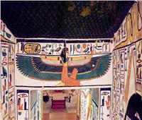 مقبرة «نفرتاري».. معرض فنون في وادي الملكات بالأقصر