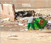 عمال النظافة يحولون شارع سكني لـ «مقلب قمامة» في المنوفية