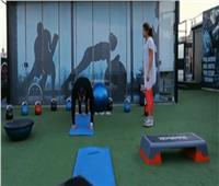 تمارين رياضية لتقوية عضلات الجسم وإنقاص الوزن.. فيديو