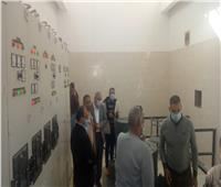 تشغيل تجريبي لمحطة الصرف الصحي بمدينة بدر
