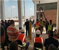 مياه أسيوط: برنامج لتوعيةً العاملين بمخاطر العمل بديروط