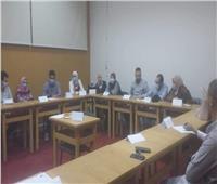 تدريب لإعداد المعلم الجامعي بجامعة القناة