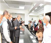 محافظ قنا يفتتح مركز خدمة المواطنين لتقديم الخدمات التموينية بنجع حمادي