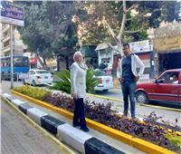 نائب محافظ القاهرة تتابع أعمال تطوير شارع المنيل بمصر القديمة