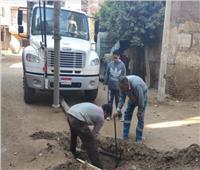 مياه المنوفية: مستمرون في أعمال تطهير شبكات وخطوط الصرف الصحي