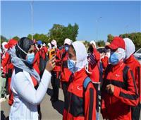 يوم رياضي للطالبات بجامعة أسوان ضمن مبادرة «الرياضة أمن قومي»
