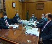 لجنة قيادات جامعة بنها تستقبل المتقدمين للوظائف الإشرافية