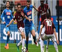 بث مباشر| مباراة نابولي وميلان في قمة الكالتشيو