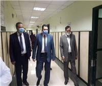 نائب محافظ القاهرة يتفقد مستشفى السنابل بحدائق القبة