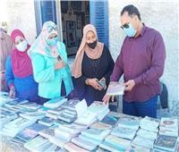 رئيس مدينة القصير يفتتح معرض الكتاب بثقافة الحمراوين