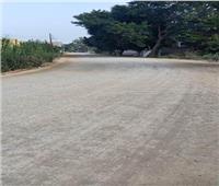 محافظ المنوفية: بدء رصف طريق أبو نشابةبتكلفة 3 مليون و500 ألف جنيه