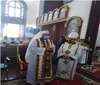 الأنبا بشارة يزور كنيسة السيدة العذراء بالبربا