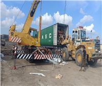 وصول الدفعة الثانية من معدات مصنع تدوير القمامة بالدقهلية