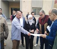 نائب محافظ القاهرة تفقدت سوق التونسي الجديد