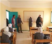 انتظام الدرسة بالشيخ زويد الإعدادية بعد إغلاقها منذ عام 2017