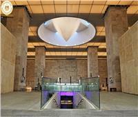 متحف الحضارة يستقبل تمثال ضخم للملك مرنبتاح والمعبودة حتحور