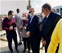 محافظ القاهرة يتفقد أعمال توسعة الطريق الدائري