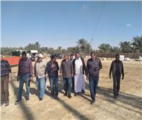 بدء أعمال حفر بئر بواحة سيوة لزراعة ٤٠٠ فدان