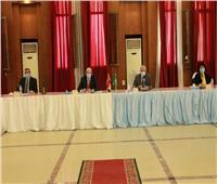 «مبارك» يعقد إجتماع مجلس جامعة المنوفية لشهر نوفمبر