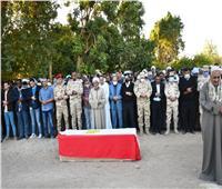«محافظ أسوان» ينعى شهيد الواجب الوطنى «أحمد جمال»