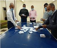 بدء أعمال الفرز فى لجان انتخابات مجلس النواب في بني سويف
