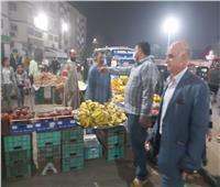 صور| حملات مكبرة لإزالة الإشغالات بحي شرق شبرا الخيمة