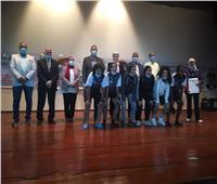 جامعة حلوان تفوز بالمركز الأول في «أولمبياد الفتاة الجامعية»