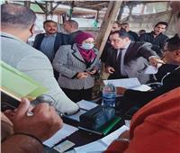 نائب محافظ القاهرة تتابع إزالة سوق التونسي القديم