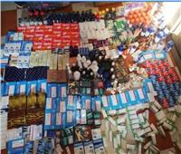 ضبط أدوية منشطة مجهولة المصدر داخل شركةشحن