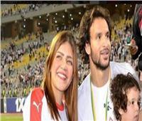 زوجة محمود علاء تكشف حقيقة إصابته بفيروس كورونا