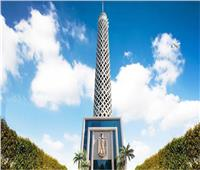 برج القاهرة يضيء برسالة «مصر أولاً..لا للتعصب» الخميس