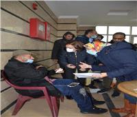 4 مصابين في انهيار شادر المركز النموذجي للتصالح بمحافظة الإسكندرية