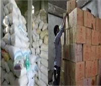 «الداخلية» تضبط لصوص السلع المدعمة بـ255 طن دقيق وسكر