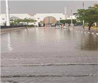 بعد سقوط الأمطار.. شاهد محيط استاد القاهرة قبل النهائي الإفريقي| صورة