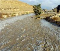 محمية وادي دجلة تنقل مياه الأمطار من الجبال إلى نهر النيل  صور وفيديو