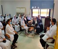 محافظ أسوان يدعم مركز الأوارم لتقديم الخدمات للمواطنين