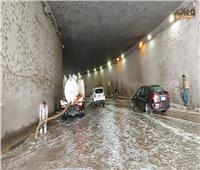 عربات شفط المياه تنتشر في شوارع المهندسين .. فيديو