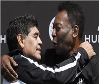 «بيليه» عن وفاة مارادونا: «أتمنى أن نلعب الكرة معًا في السماء»