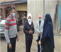 نائب محافظ القليوبية تتفقد المشروعات المتعثرة بمدينة قليوب