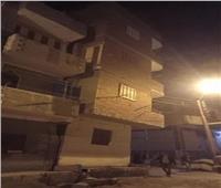 ميل وتصدع عقار مكون من 4 طوابق في بني سويف