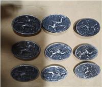 جمارك رفح تضبط محاولة تهريب عدد من العملات المعدنية الأثرية