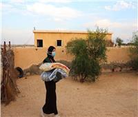 استمرار هبوب الرياح الباردة وموجة الصقيع في سيناء