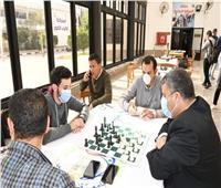 ختام فعاليات بطولة الشطرنج المفتوحة بجامعة القناة