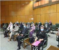 جامعة أسيوط تستقبل وفد تطوير المشروعات بالتعليم العالي