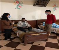 انقاذ ٤ أشخاص بلا مأوى من برد الشتاء