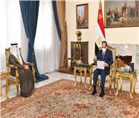 الرئيس السيسي يبحث مع وزير الخارجية الكويتي أوضاع سوريا والعراق..صور