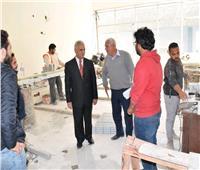 رئيس جامعة العريش: تطهير وتعقيم كافة منشآت الجامعة لمواجهة «كورونا»