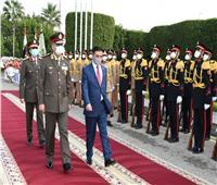 وزير الدفاع يلتقي نظيره العراقي لبحث التعاون المشترك «فيديو»