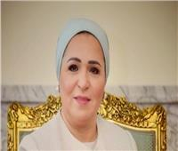 انتصار السيسي: «أرمي حمولي على الرئيس»